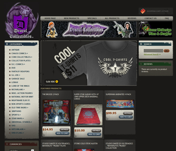 My Other Websites: Dracul Collectibles