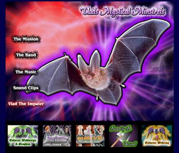 My Music Websites: Vlad's Mystical Minstrels