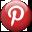 Social Media Icons: Pinterest